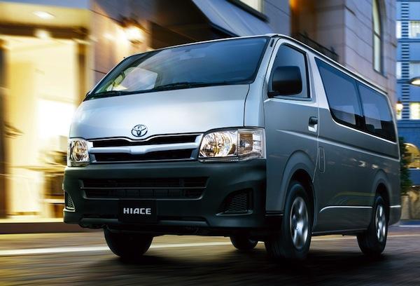 Toyota Hiace Kiribati 2014