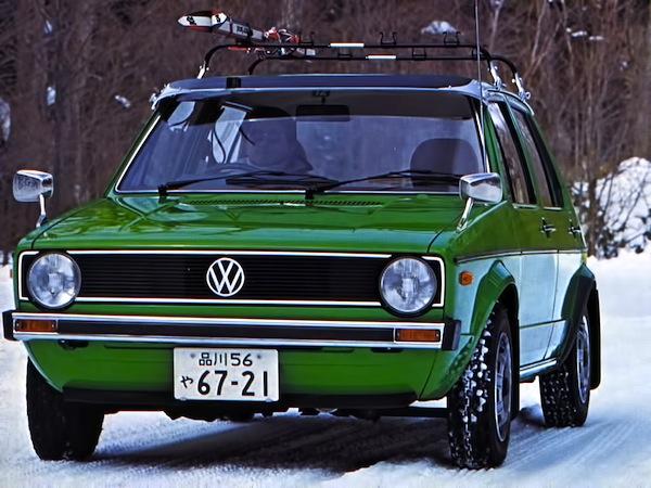 VW Golf World 1979