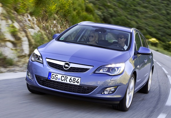 Italy Station Wagons August 2012: Opel Astra back in control – Best