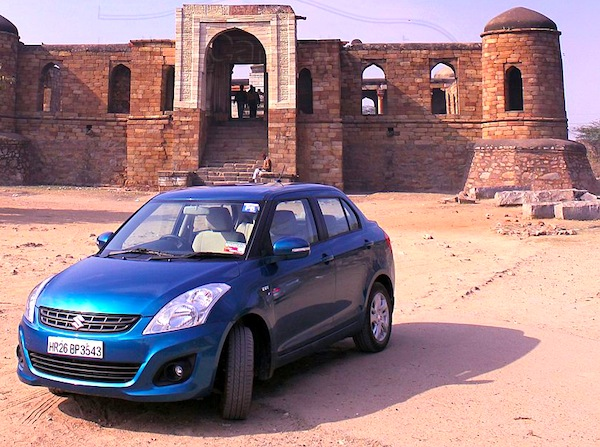Suzuki Swift DZire World 2012