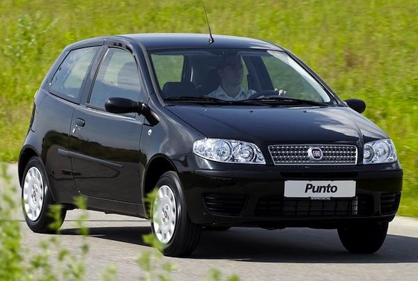 Tylko na zewnątrz Serbia August 2012: Fiat Punto Classic should still be #1 – Best PI13