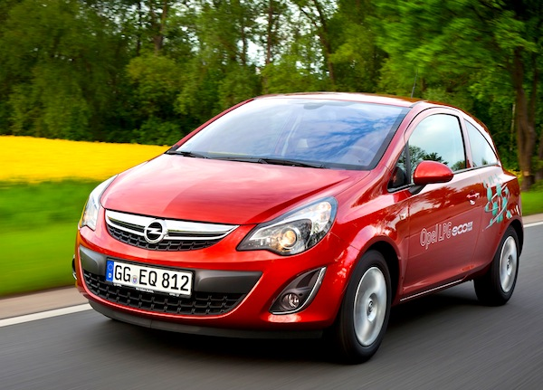 Opel Corsa Spain May 2013