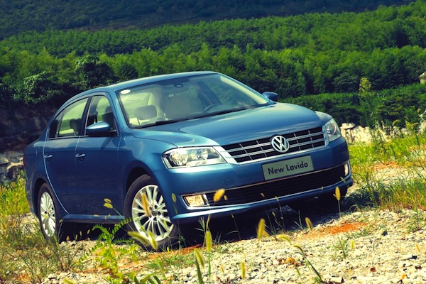 VW Lavida China