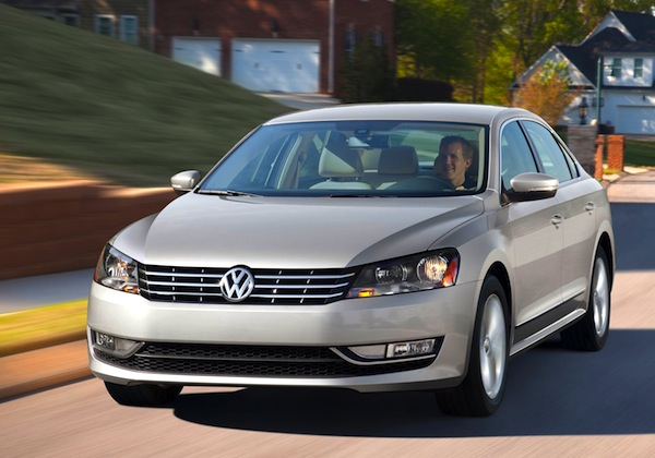 VW Passat USA 2012