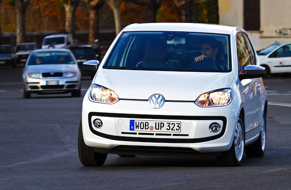 VW Up Italy December 2013