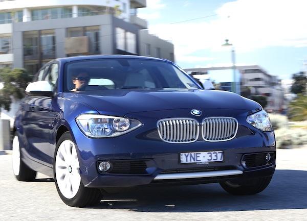 BMW 1 Series England 2013