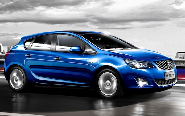 Buick Excelle XT China August 2013
