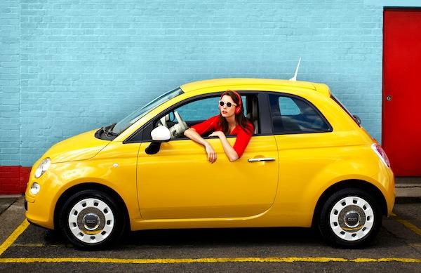 Fiat 500 Scotland 2013