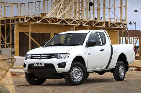 Mitsubishi L200 Australia May 2013
