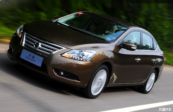 Nissan Sylphy World July 2013. Picture courtesy of www.auto.ifeng.com