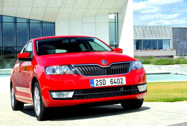 Skoda Rapid Croatia 2014