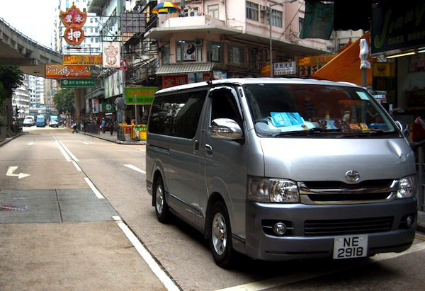 Toyota Hiace Hong Kong 2013. Picture courtesy of Jeremy on Flickr
