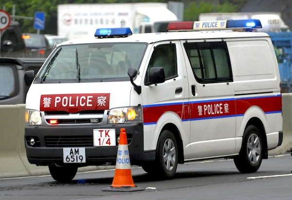 Toyota Hiace Hong Kong Police July 2013. Picture courtesy of Swat HK via Flicker