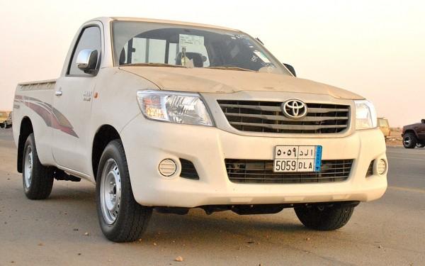 Toyota Hilux Saudi Arabia February 2013