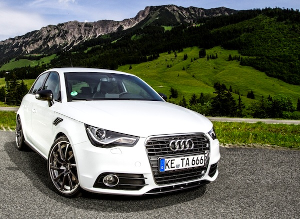 Audi A1 2013. Picture courtesy of Driving Dutchman