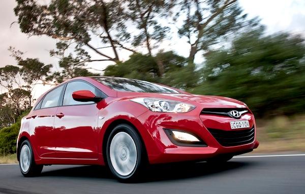 Hyundai i30 Australia June 2014