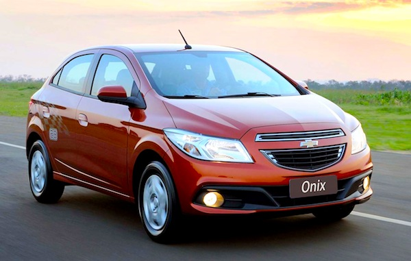 Brazil Mid January 2013 Chevy Onix Up To 7 Hyundai Hb20 12