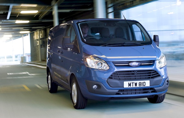 Ford Transit Custom UK September 2015
