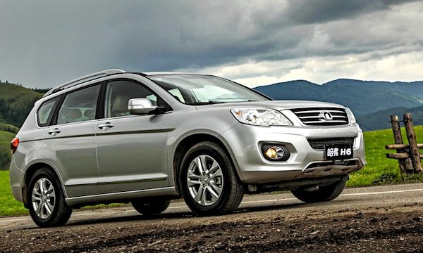 Great Wall Haval H6 World July 2013