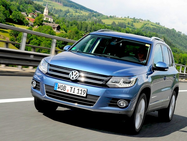 VW Tiguan Liechtenstein 2012
