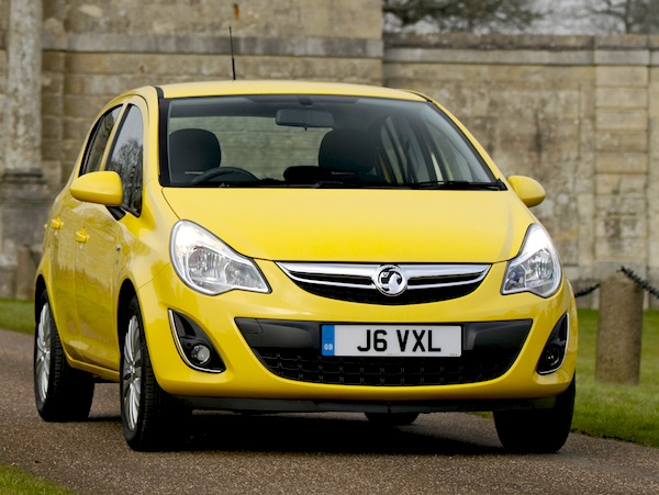 Vauxhall Corsa UK July 2014