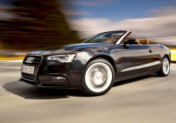 Audi A5 Greece January 2013