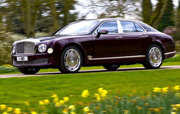 Bentley Mulsanne Diamond Jubilee 2012