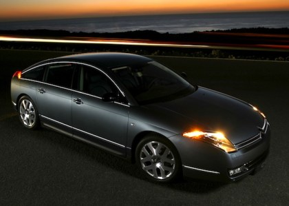 Citroen C6. Picture courtesy of Citroen