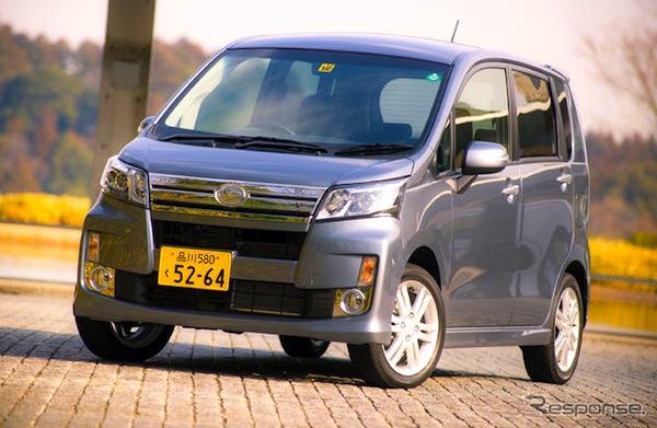 Daihatsu Move Japan January 2013