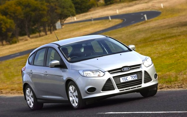 Ford Focus Australia January 2013