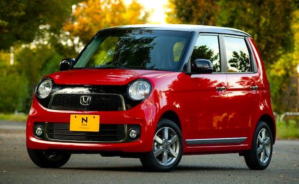 Honda N-One Japan January 2013