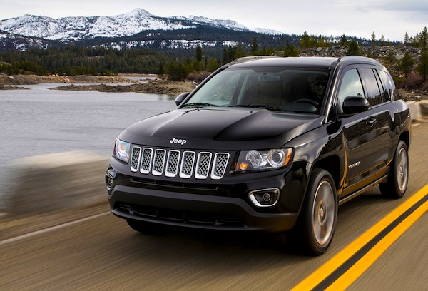 Jeep Compass China September 2015