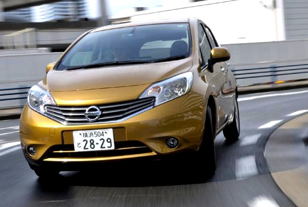 Nissan Note Japan 2013