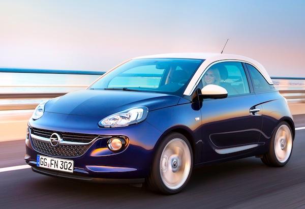 Opel Adam Germany July 2013
