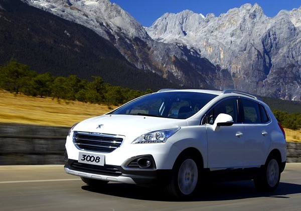 Peugeot 3008 China January 2013. Picture courtesy of auto.sohu.com