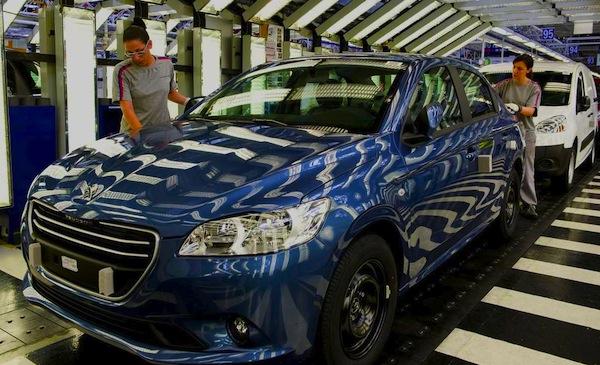 Peugeot 301 Bulgaria January 2013