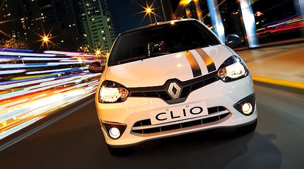 Renault Clio Mio Argentina January 2013