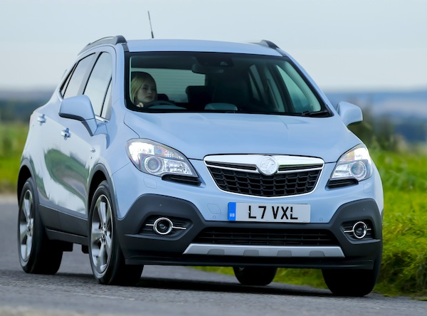 Vauxhall Mokka Europe September 2014