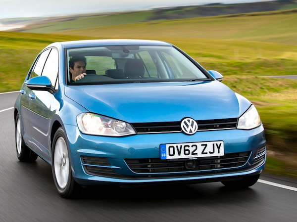 VW Golf England 2013