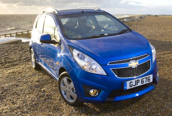 Chevrolet Spark World 2012