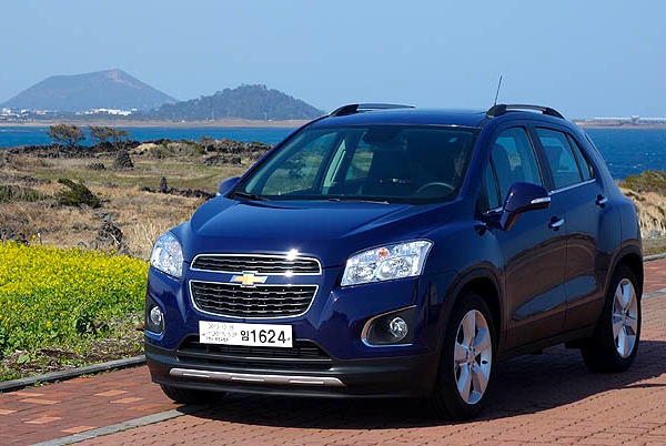 Chevrolet Trax South Korea February 2013. Picture courtesy of Global Auto News