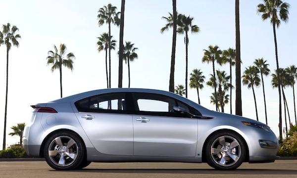 2011 Chevrolet Volt Production Show Car