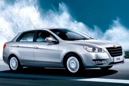 DongFeng S30. Picture courtesy of www.autowp.ru