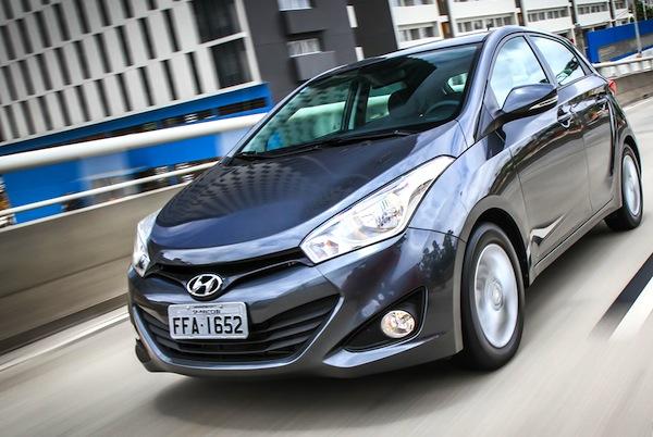 Hyundai HB20 Brazil February. Picture courtesy of Carplace