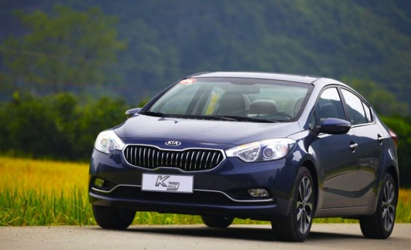 Kia K3 China June 2014