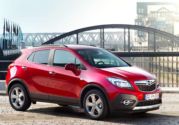 Opel Mokka Portugal February 2013