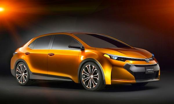 Toyota Corolla Furia Concept World 2012