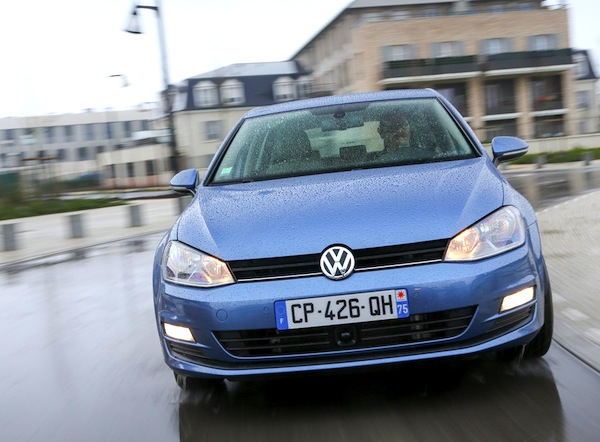VW Golf VII. Picture courtesy of L'Argus