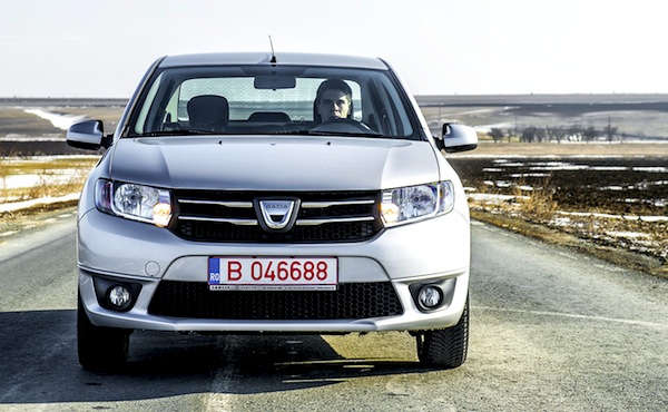 Dacia Logan World May 2013. Picture courtesy of www.autoevolution.com