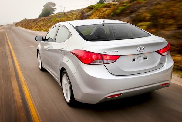 Hyundai Elantra Jordan February 2013